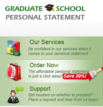 Graduate School Personal Statement