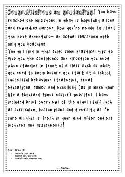 Graduate Teacher Guide