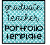 Graduate Teacher Portfolio Template