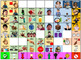 Graduated Core Word Photo Boards with Flip Fringe Vocab & Spanish Version