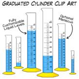 Graduated Cylinder Clip Art   Measuring Volume