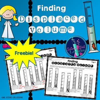 Graduated Cylinders & Displaced Volume (Irregular Shaped Objects)-FREEBIE