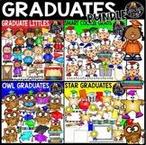 Graduates Clip Art Bundle {Educlips Clipart}