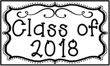 Graduating Class Poster Set for Back to School Set 3 Legal Sized (8.5 x 14)