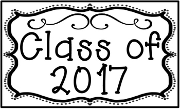 Graduating Class Poster Set for Back to School Set 3 Legal