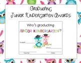Graduating Junior Kindergarten Awards