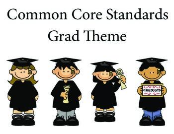 Graduation 2nd grade English Common core standards posters