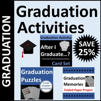 Graduation Activities for Middle School or High School