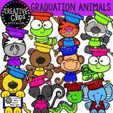 Graduation Animal Clipart {Creative Clips Clipart}