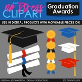 Graduation Awards Clip Art (Digital Use Ok!)