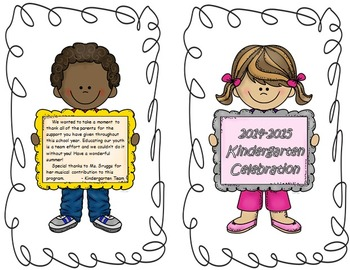Graduation - Awards Day - Foldable Program - Editable