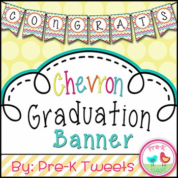 Graduation Banner - Multi-colored