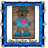 Graduation Bear, Graduation Craft, End of the Year Craft