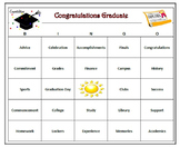 Graduation Bingo Game -60 Unique Cards, Printable