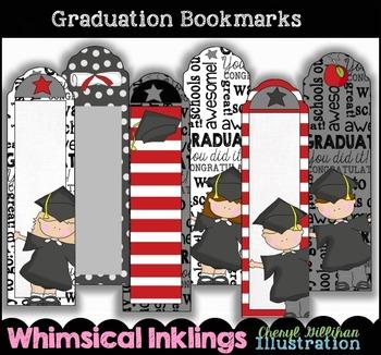 Graduation Bookmarks Printable