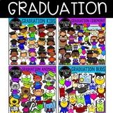 Graduation Clipart  Bundle {Creative Clips Clipart}