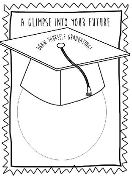 Graduation Cap Activity Sheet