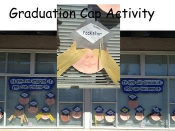 Graduation Cap Activity for Kindergarten