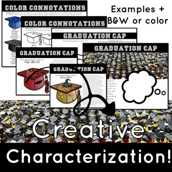 Graduation Cap Symbolism: A fun end-of-the-year writing assignment and activity