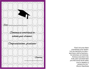Graduation Cards [Free]