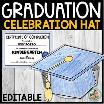 Graduation Celebration Hat for Pre-K or Kindergarten