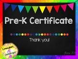 Graduation Certificate *EDITABLE*
