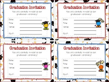 End of Year Certificates - 1st Grade