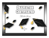 Graduation Certificates 3 Metallic Series