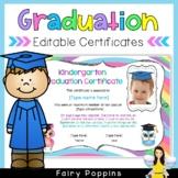 Editable Graduation Certificates (Cute Owl Theme)