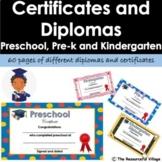 Graduation Certificates and Diplomas - Kindergarten, Pre-K and Preschool