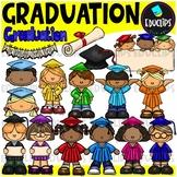 Graduation Clip Art Bundle {Educlips Clipart}