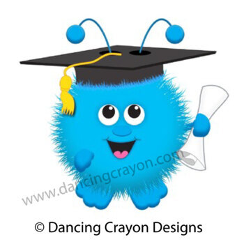Graduation Clip Art: Warm Fuzzy Graduation Graphics