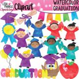 Graduation Clipart Watercolor
