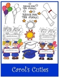 Preschool and Kindergarten Graduation Clip Art Collection