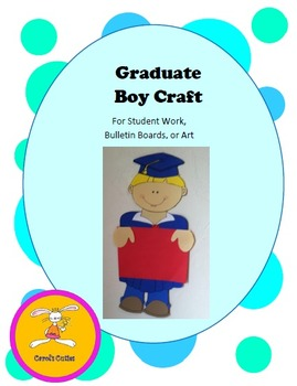 Graduation Craft - Decorative Display for Bulletin Boards, Student Work