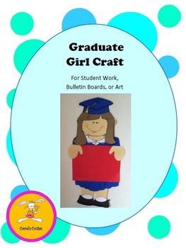 Graduation Craft -Decorative Display for Bulletin Boards, Student Work, or Art