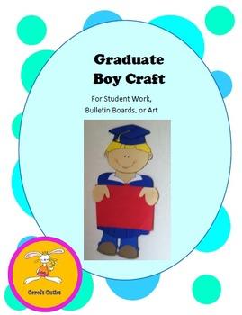 Graduation Craft - Decorative Display for Bulletin Boards,