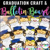 Graduation Craftivity Bulletin Board Writing Craft Pre-K Kindergarten
