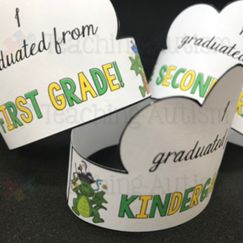 End of the Year Graduation Crowns, Free Download