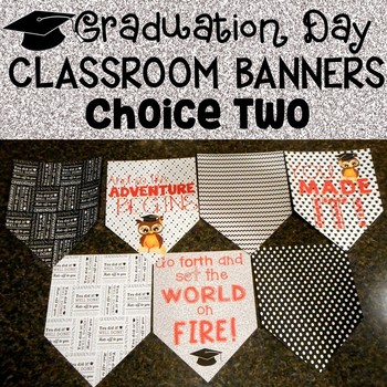 Graduation Day Banner Set for the Classroom