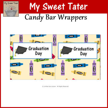 Graduation Day Candy Wrappers