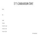 Graduation Day Certificate