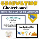 Graduation Day Choice Board: An Interactive Brain Break for Google Slides
