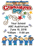 Graduation Day Flyer Template