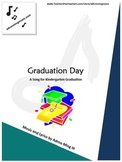 """Graduation Day"" song for Kindergarten graduation program w/ background track"