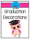 Graduation Decorations - Preschool