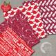 Graduation Digital Paper School Scrapbooking papers in Reds, AMB-1022