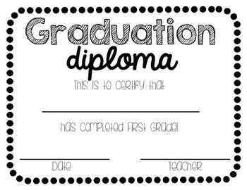 Graduation Diplomas