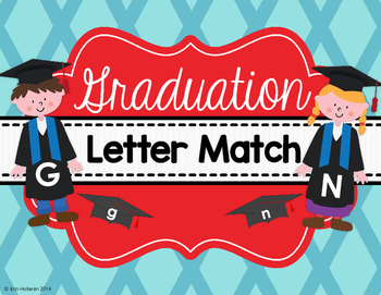 Graduation End of the Year Letter Match