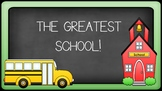 """Graduation / End of the Year Song """"The Greatest School"""""""